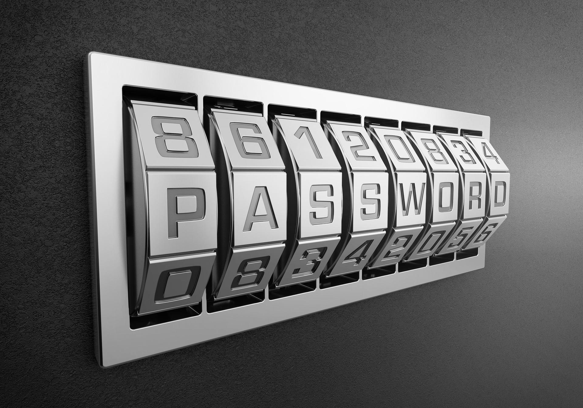 Titelbild Passwortsicherheit