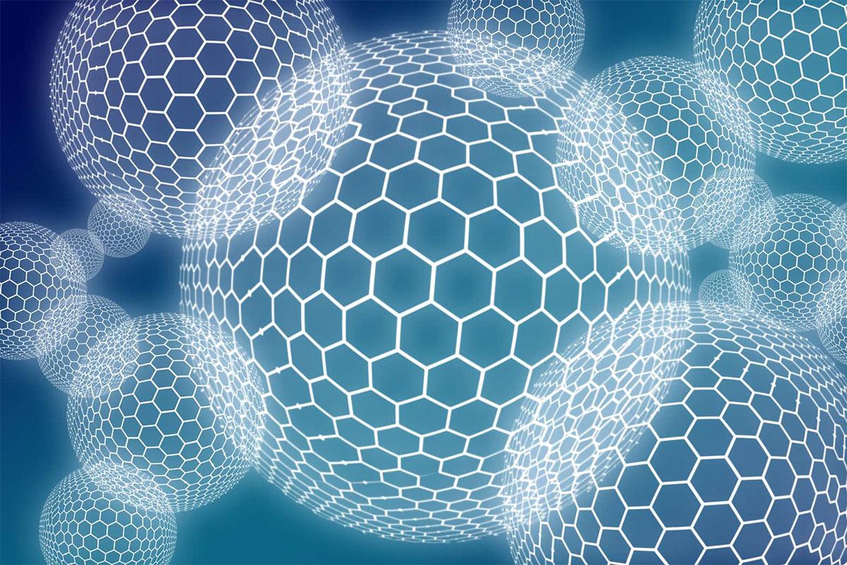 Hexagon Kreise Muster Zero Trust