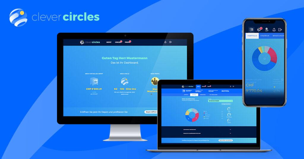 clevercircles Cross Device Plattform für Vermögenverwaltung
