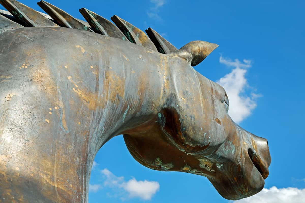 trojanisches pferd wie malware
